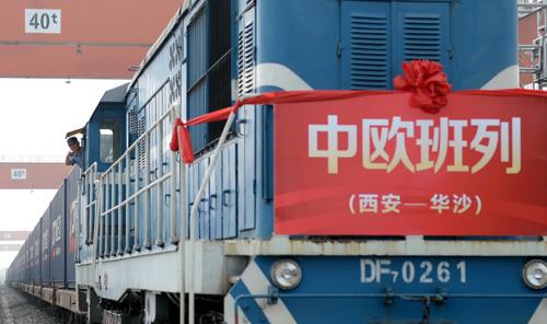 China-Europe freight train sends anti-epidemic supplies to Poland