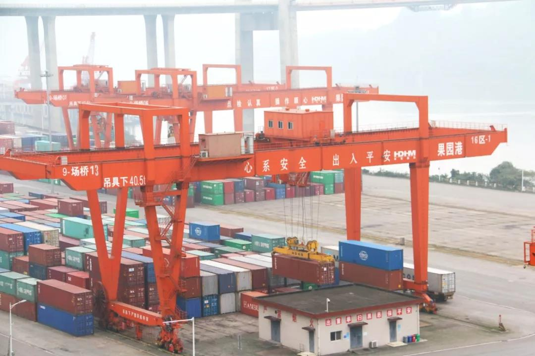 Liangjiang Yuzui railway freight station to be put into use