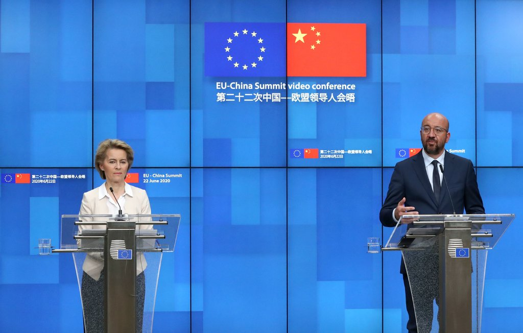 On 22 June 2020, the European Union and China held their 22nd bilateral summit via videoconference