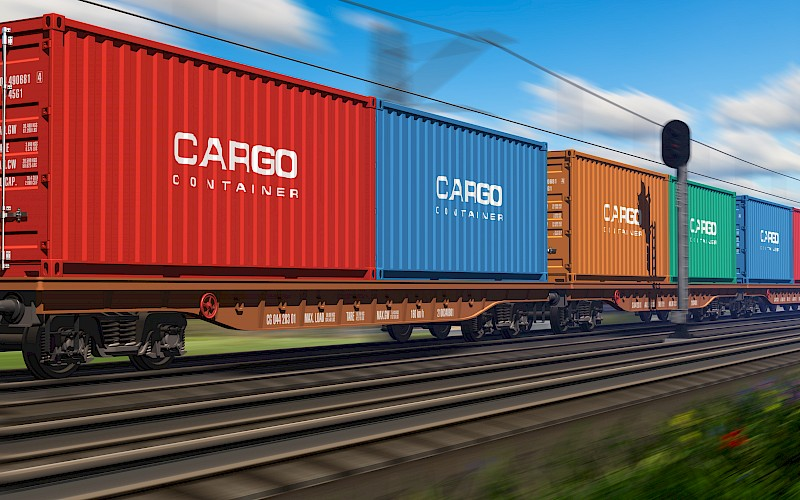 China's rail freight transport on the rise