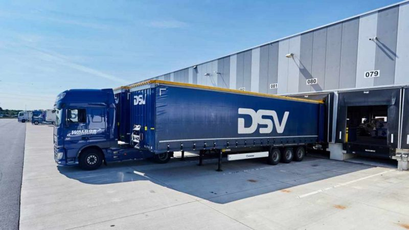 DSV: the occupation of the largest logistics center in Europe will started from 2022