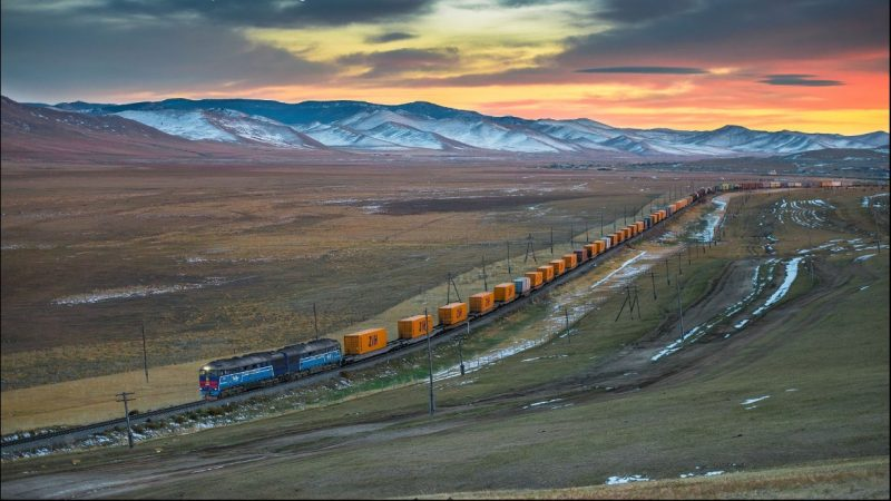 China-Mongolia border port sees surge in China-Europe freight trains