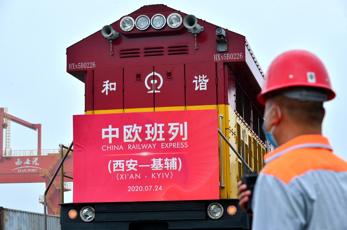 Strong China-Europe rail links boost cargo traffic amid pandemic
