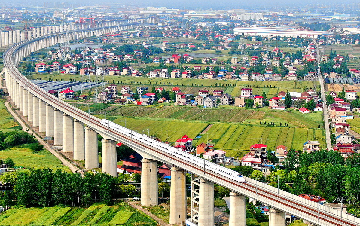 Speed rail network will cover all Chinese cities with a population of over 500,000 within 15 years