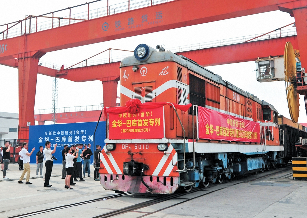 China expands its railway presence in Caspian region
