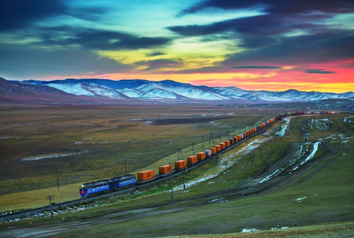 Tracks to continent help boost development prospects in inland cities
