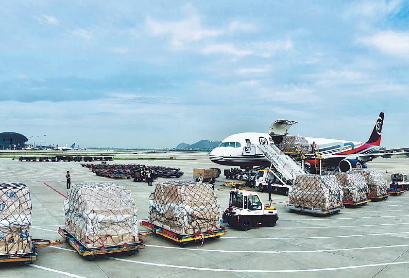 China announces plan to develop logistics, manufacturing sectors