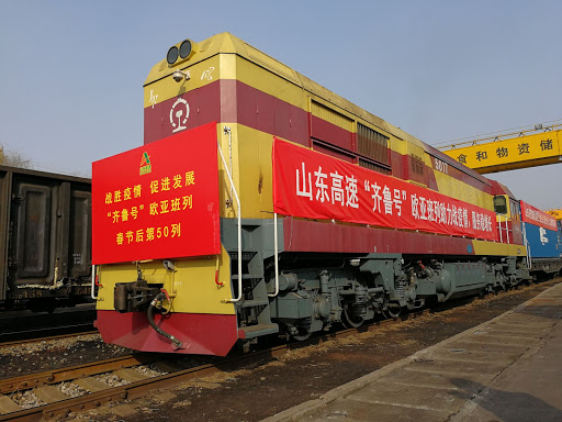 China's Shandong sees more freight trains to and from Europe, Central Asia