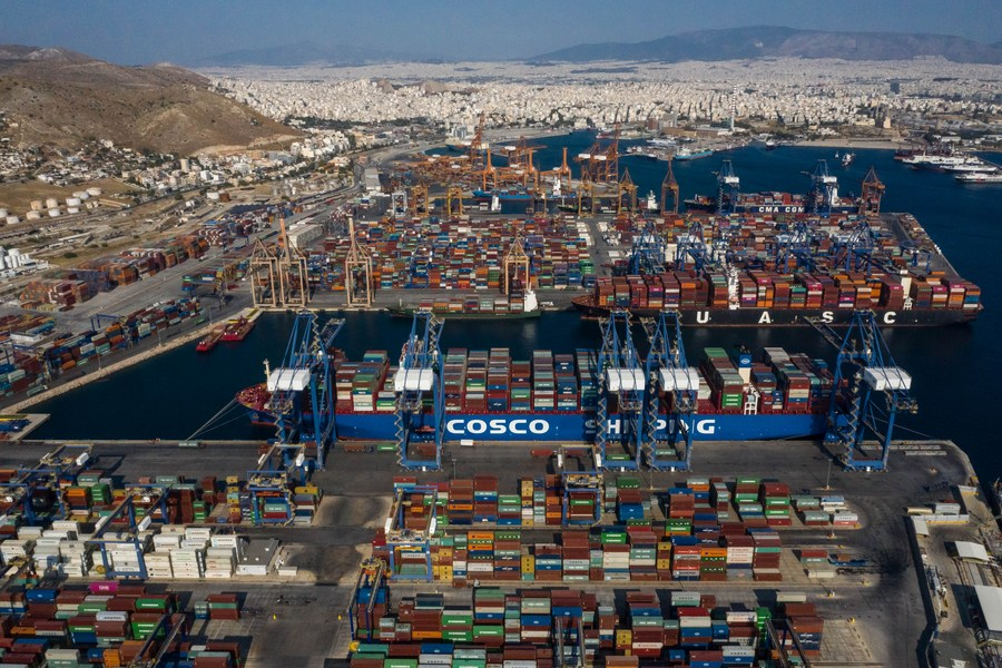 Greek officials invite Chinese investment in post-COVID-19 Greece