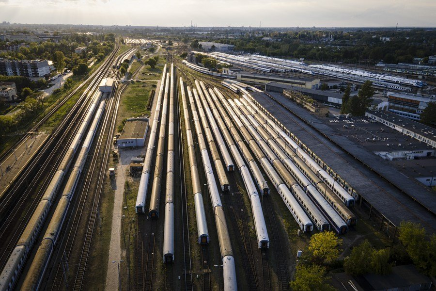 Riding wave of freight train services, Poland's border town expects closer ties with China