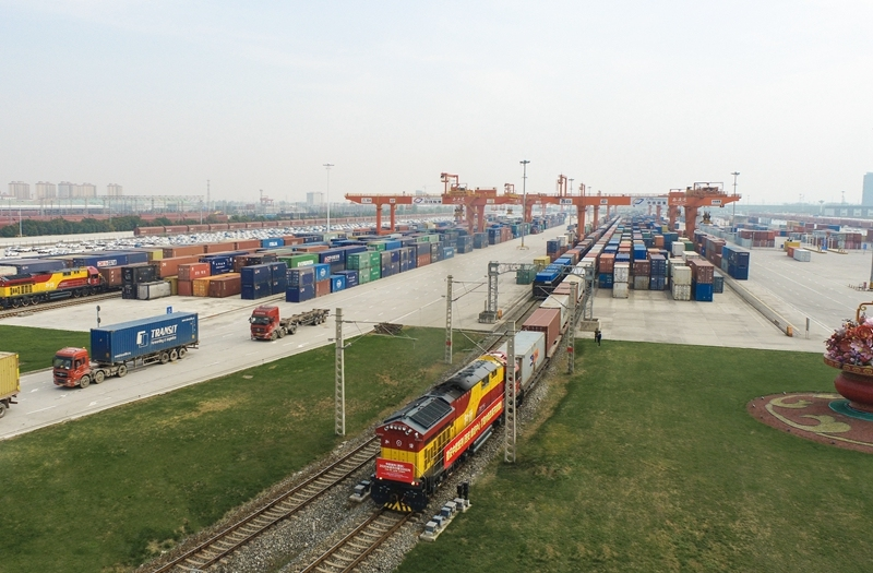 China-Europe Chang'an freight train and OCCL signed memorandum of cooperation recently