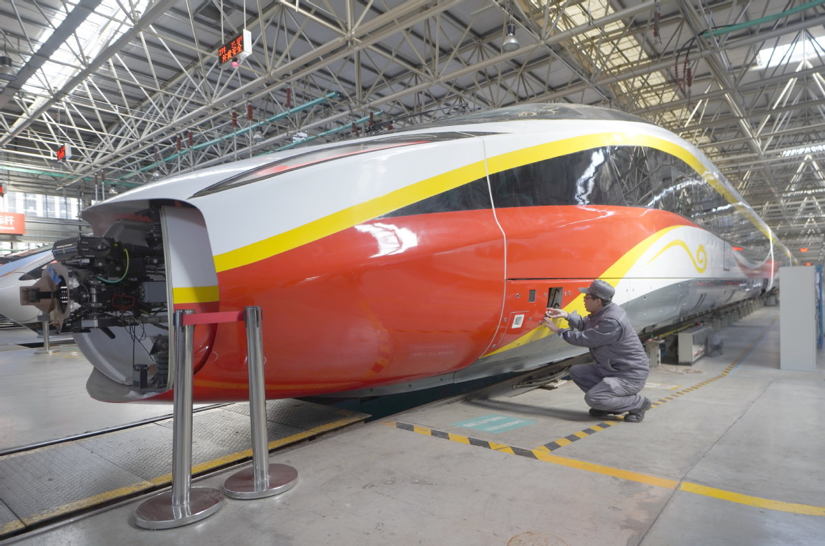 High-speed train maker fares well amid COVID pandemic