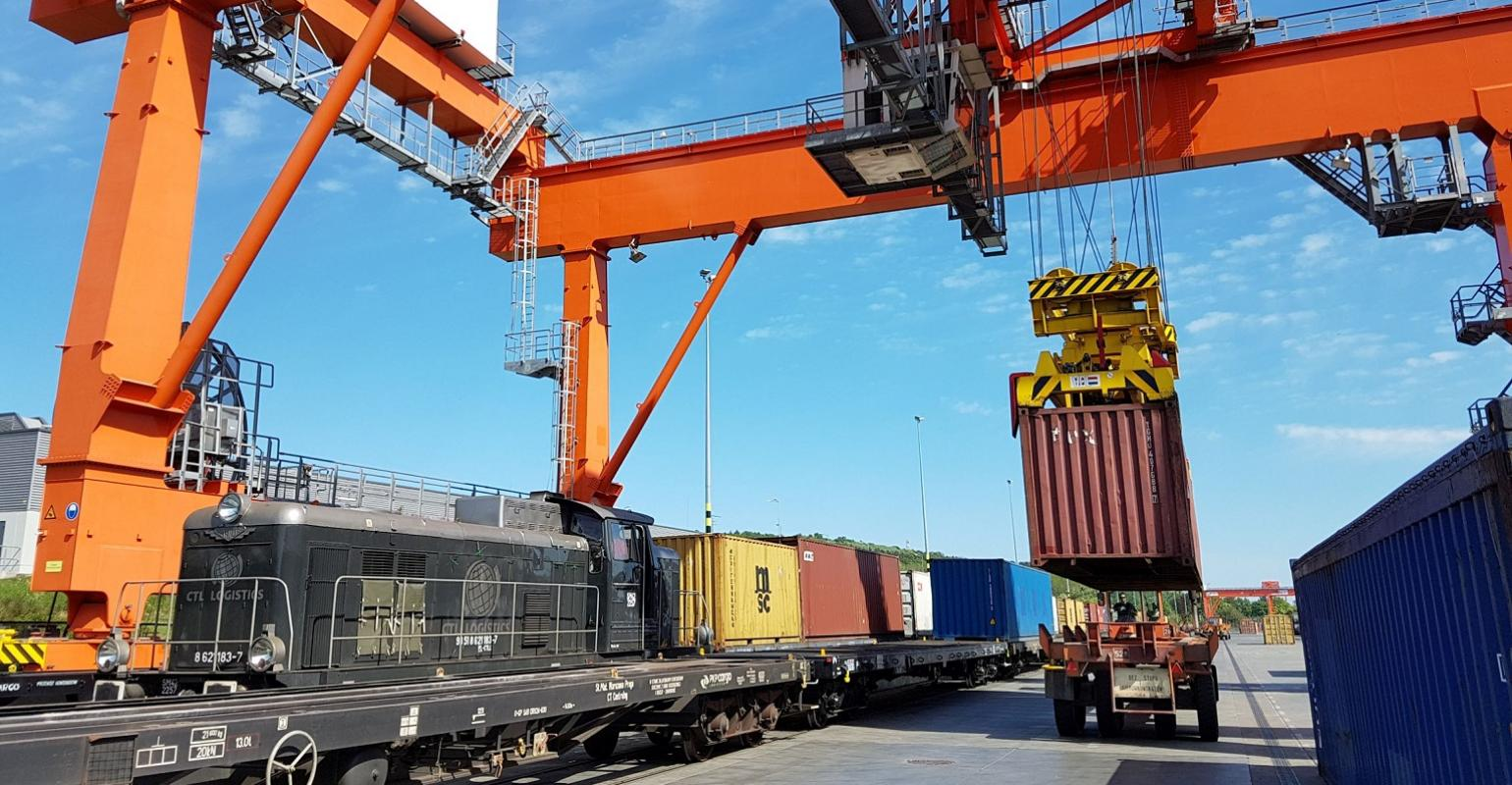Baltic Container Terminal (BCT) in Gdynia designed to improve intermodal rail operations