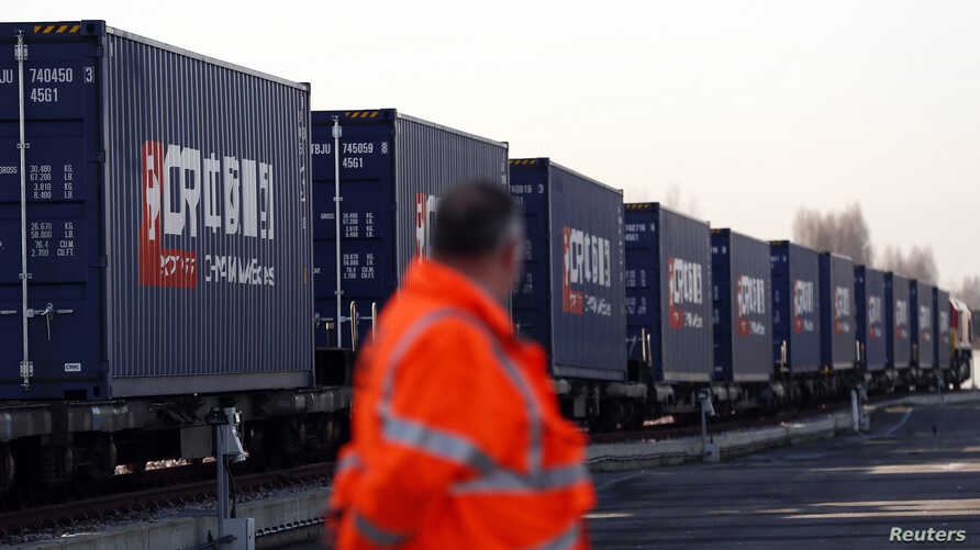 Turkish freight train arrives to China