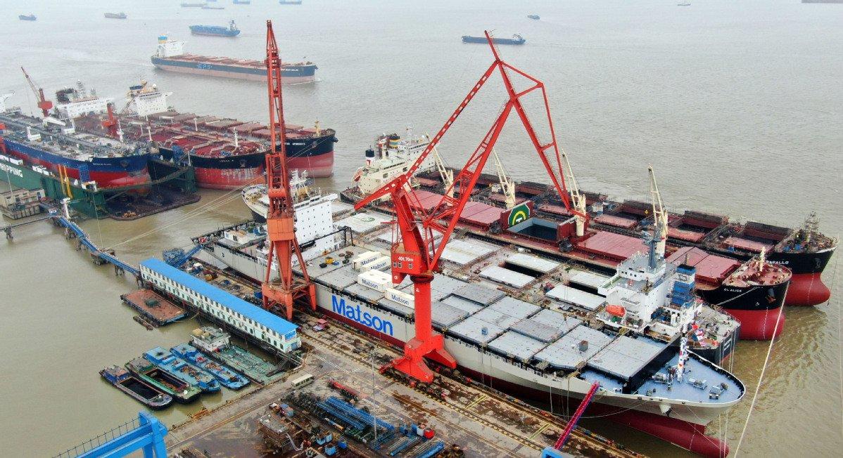 China's ship repair and maintenance sector buoyant