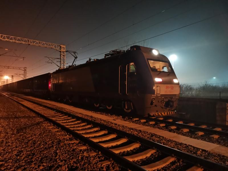 First China-Europe freight train departs China for Europe since Spring Festival