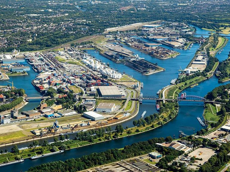 the Port of Duisburg