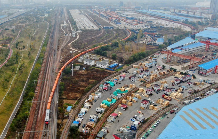 Observe: China's central region accelerates integration into Belt and Road Initiative (BRI)