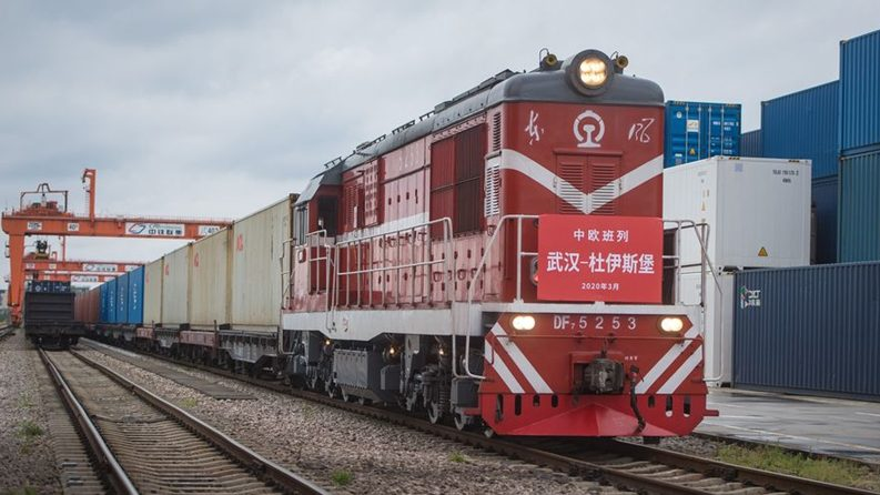 Wuhan extends China-Europe freight train service to Milan