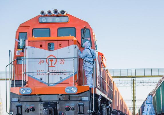 Strong growth in freight volume of China-Mongolia land port