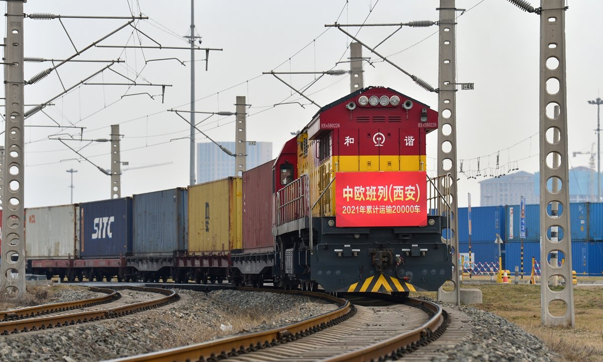 Record growth of freight trains in Jan-Feb 2021, global cooperation necessary