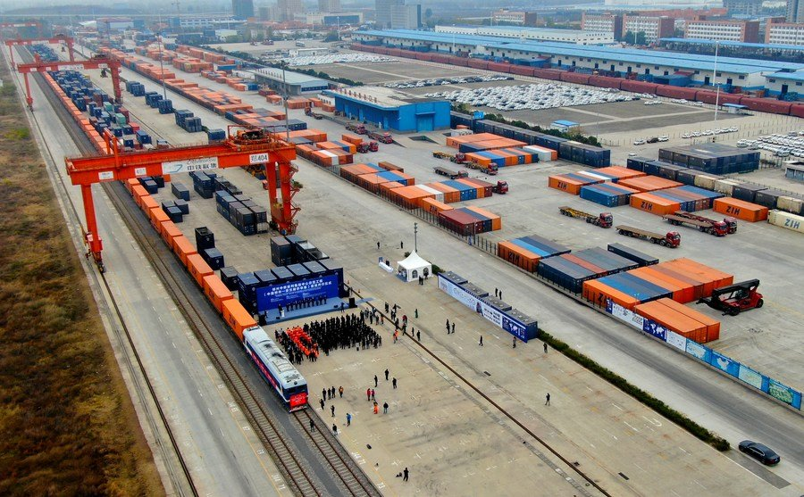 China-Europe freight train has a series of significant advantages, says Finnish minister