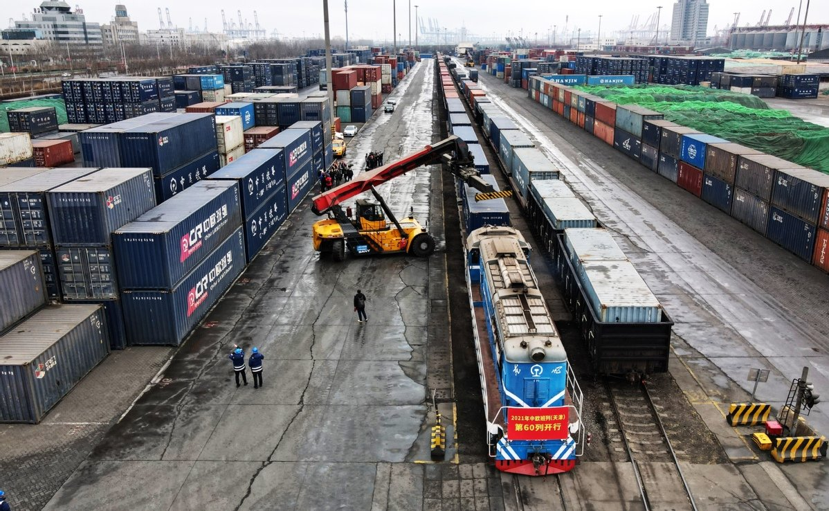 China-Europe freight train will continue to show its competitive edge over maritime and air transportation