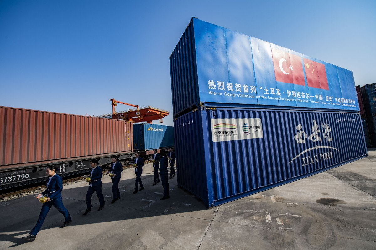 China and Turkey have closer ties through the China-Europe freight train