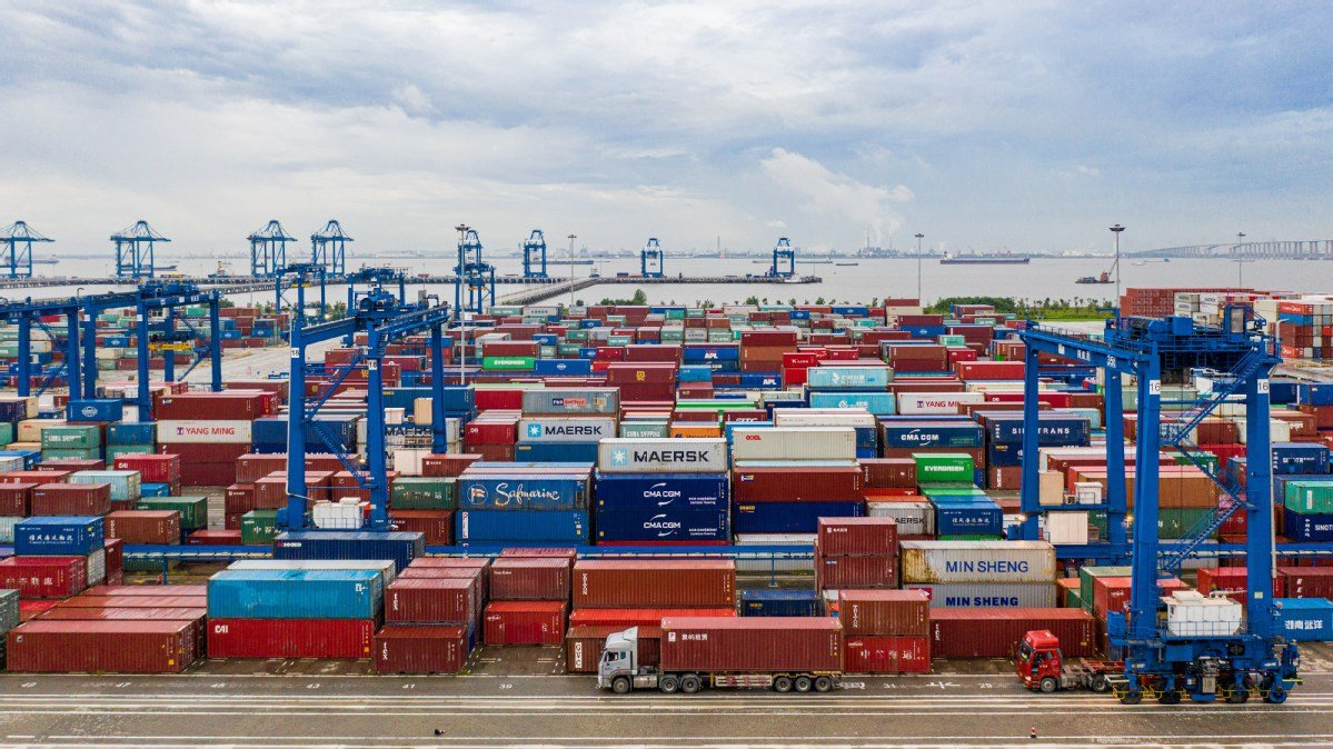 Despite the impact of the epidemic, china's foreign trade sustains upward momentum