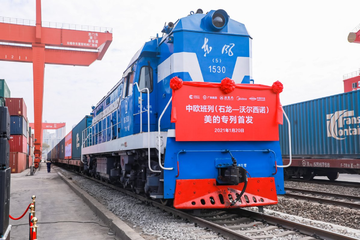China-Europe freight trains have boosted investment and trade across Eurasia