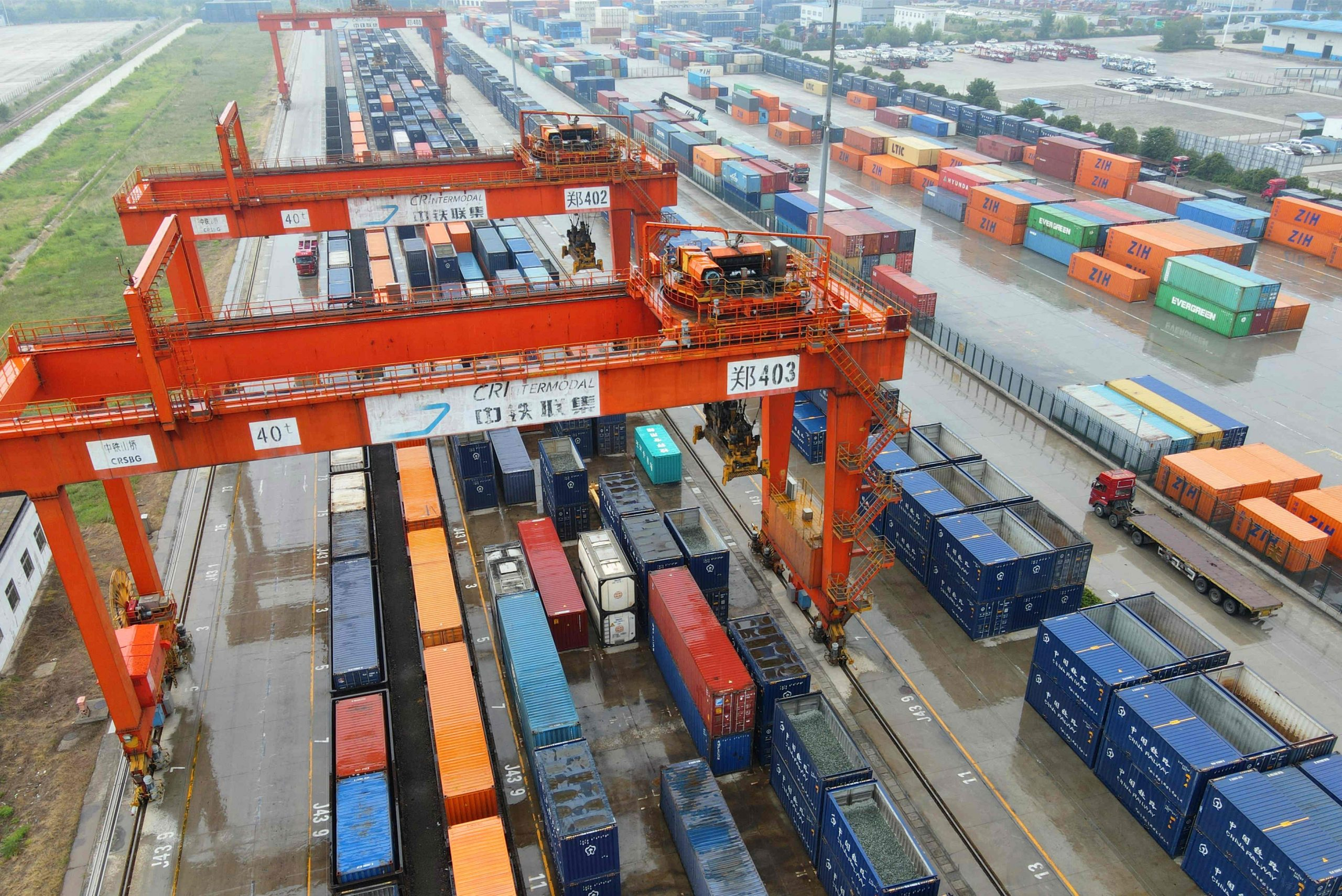 AIIB's investment in Zhengzhou International Land Port was approved for USD 150 million