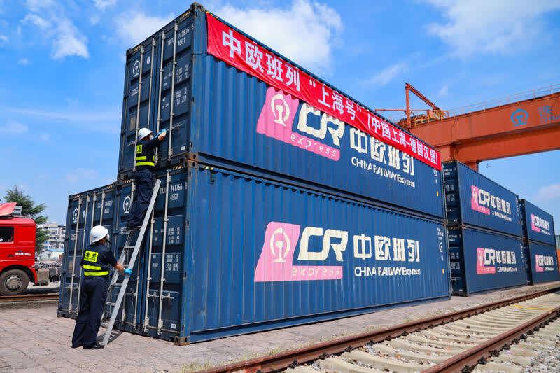 Shanghai to launch its first China-Europe freight train, to Hamburg