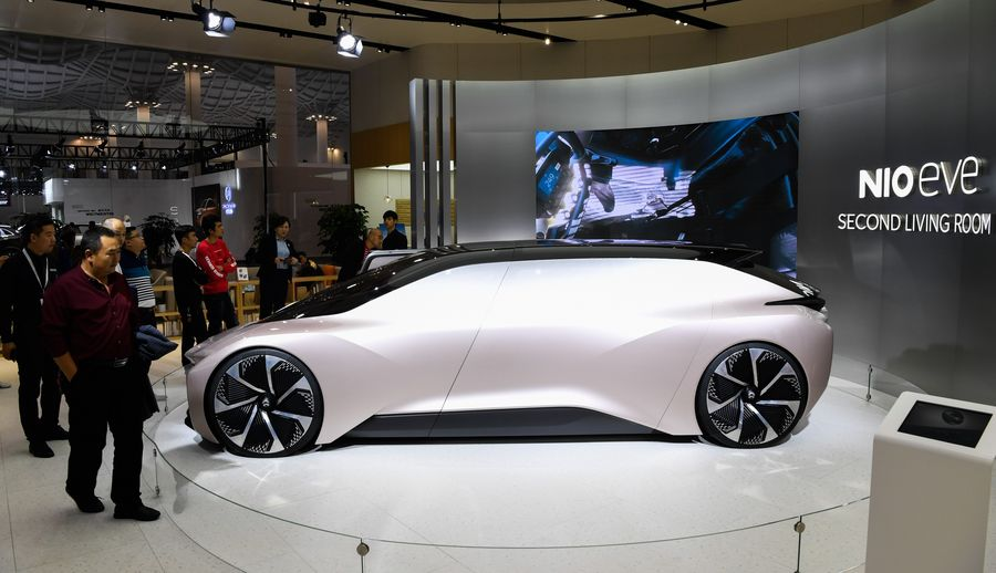 China's NIO plans to sell its ET7 luxury car in Germany from next year