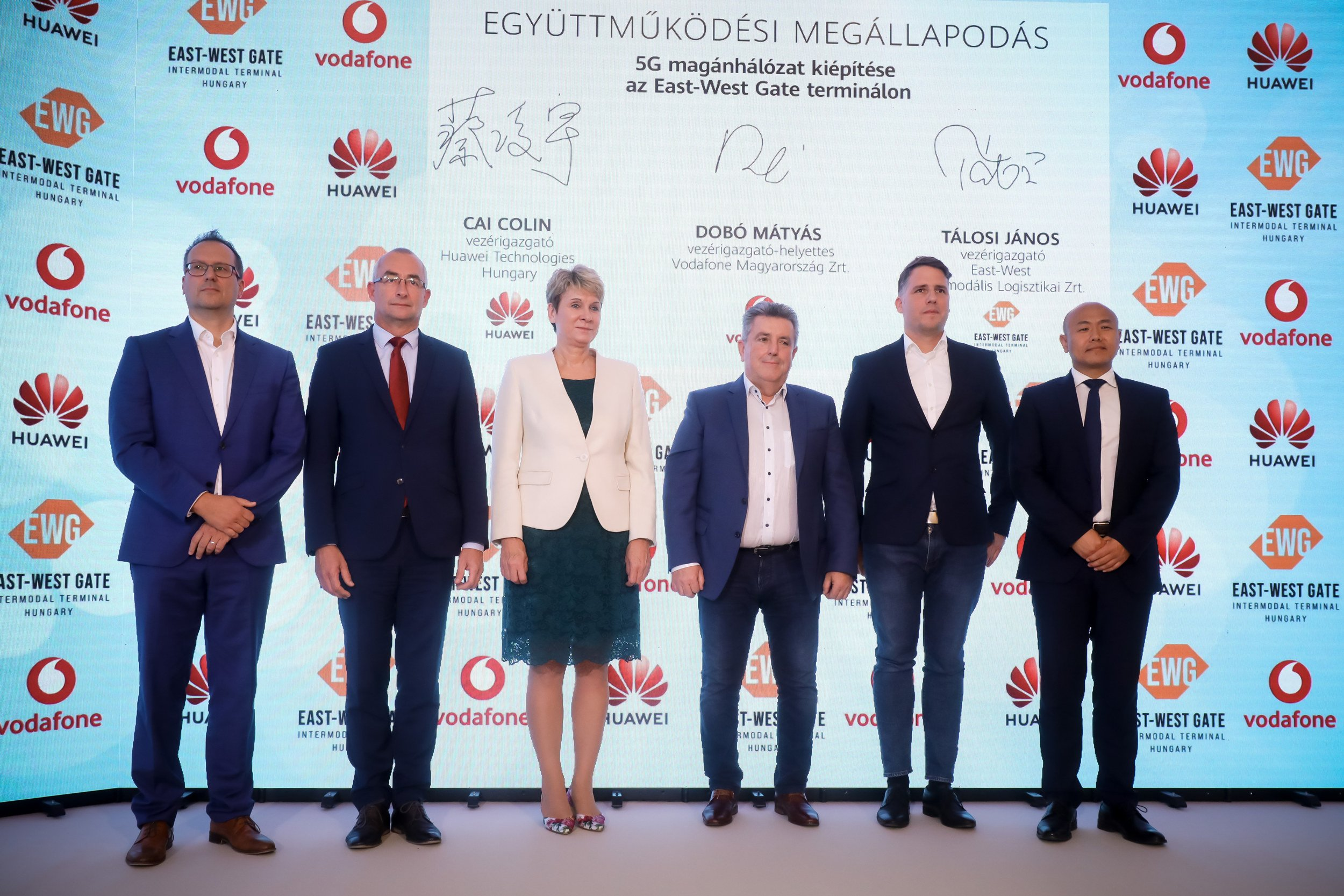 Europe's first 5G railway terminal is being built at East-West Gate, Hungary
