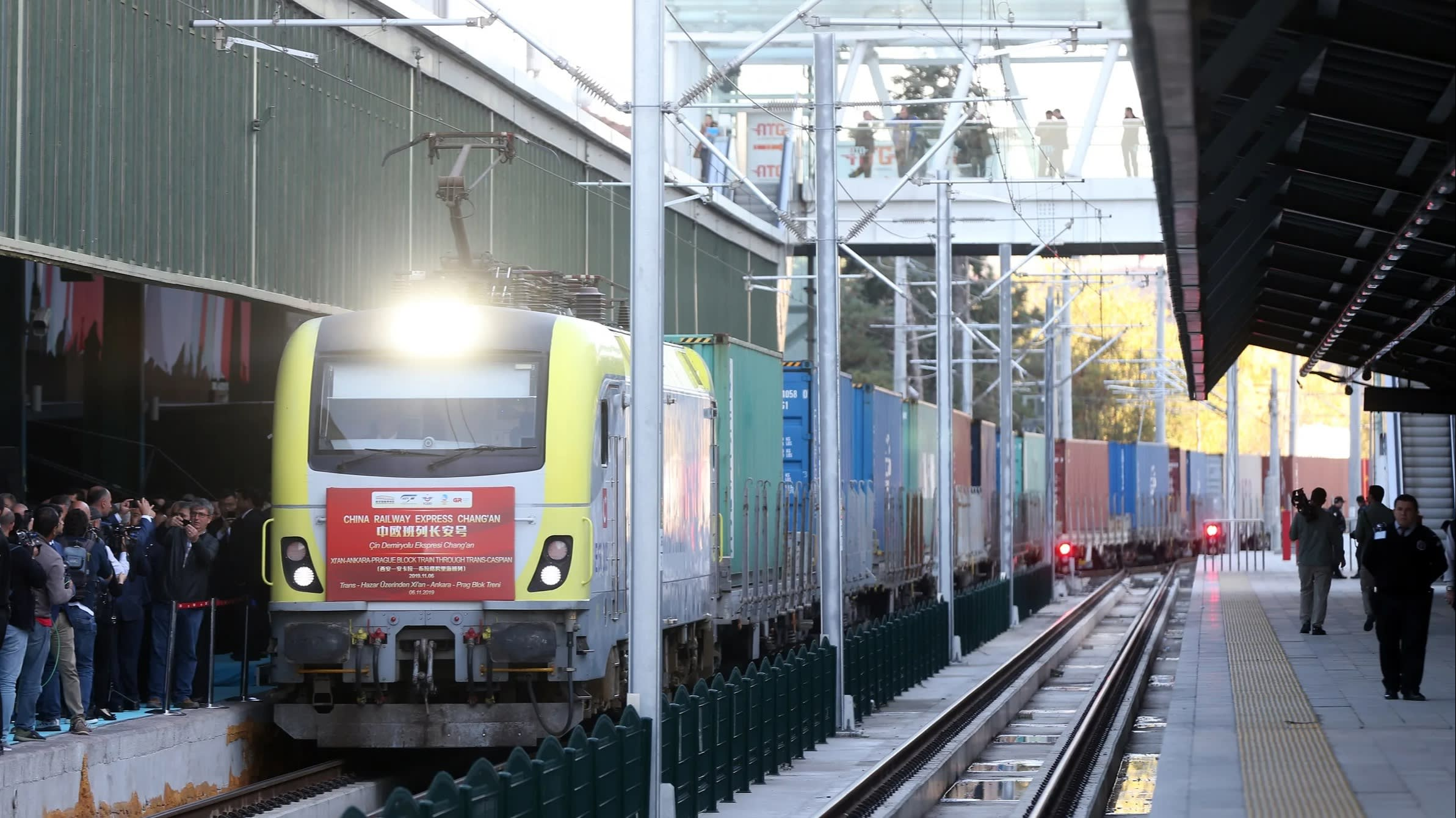 Marmaray tunnel expects more China-Europe freight trains
