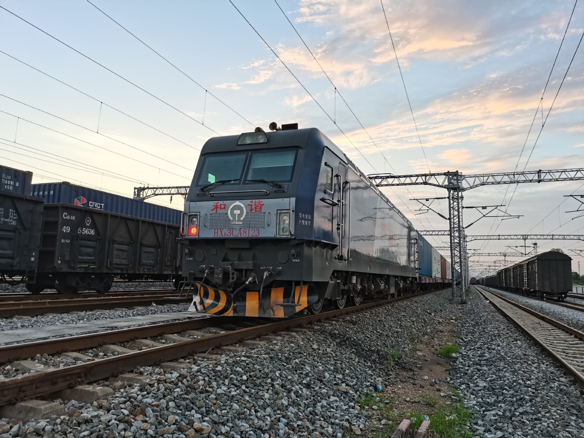 Wuhan sees 800th freight train depart for Europe