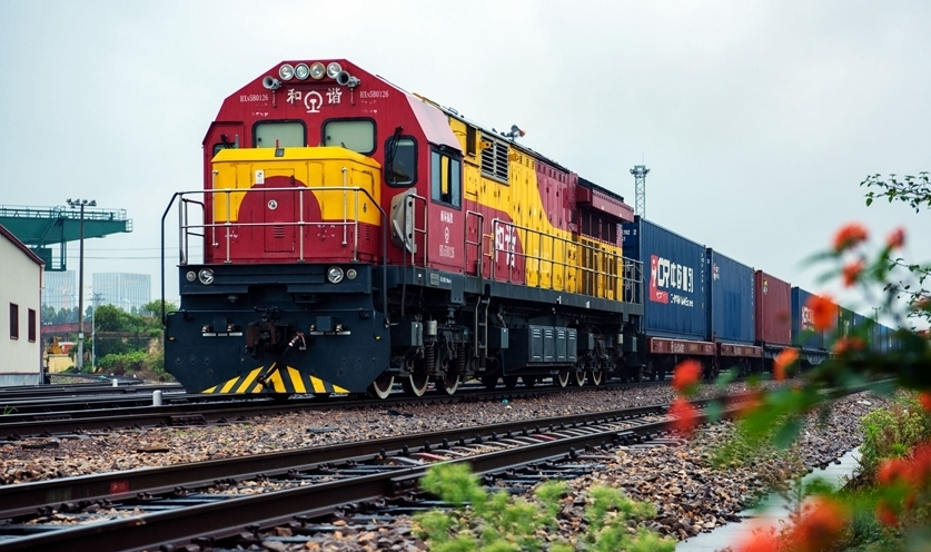 China-Europe freight train helped keep transportation of supplies moving during pandemic
