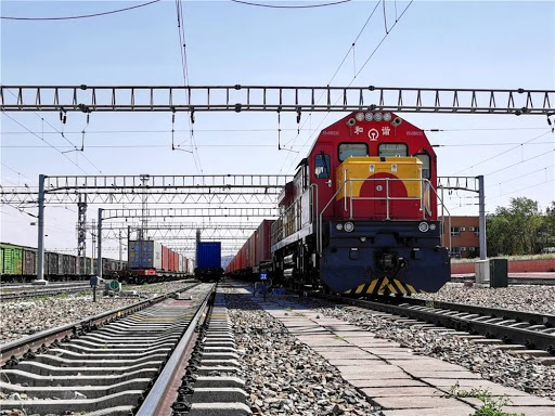 Xinjiang's Alataw Pass sees over 3,000 trips by China-Europe freight trains