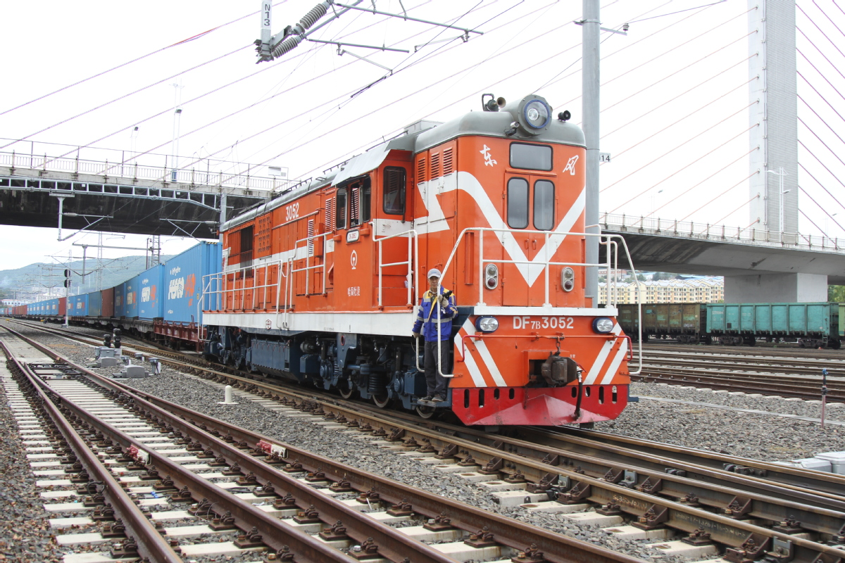 Freight clears quickly on Heilongjiang's border