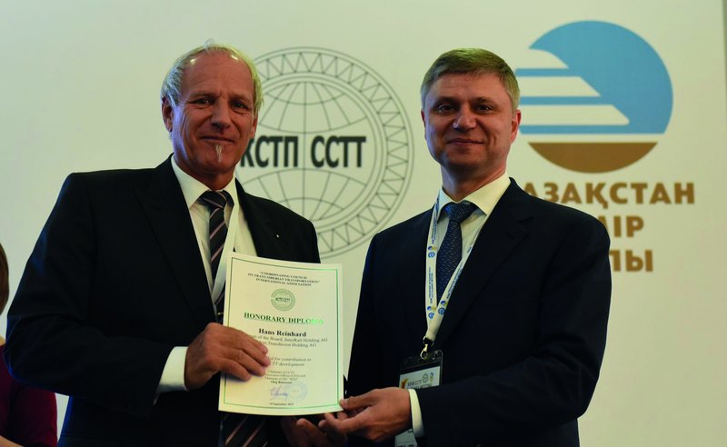 Interview – Mr. Hans Reinhard, Chairman of InterRail Group