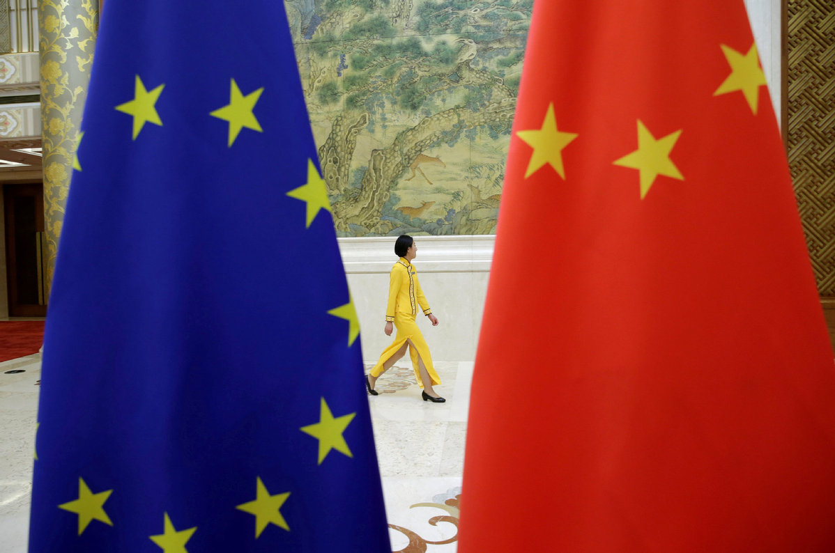 China-EU trade growth shows vitality of their cooperation