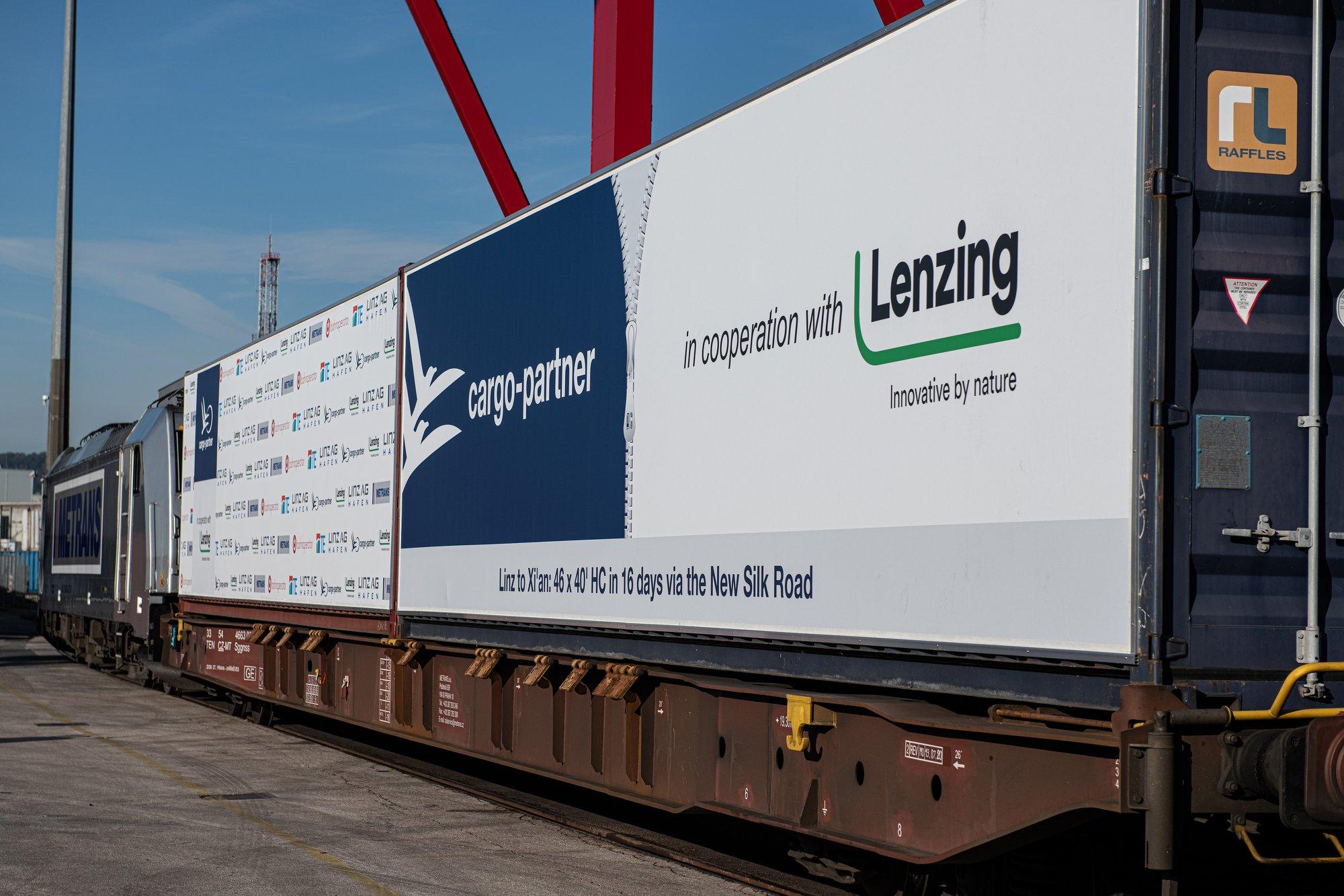 Cargo-partner organises Austria-China block train
