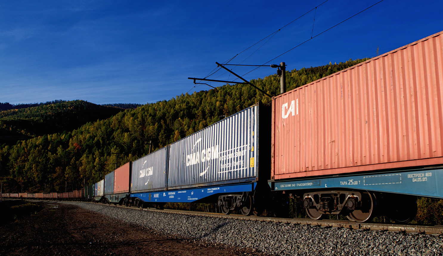 Europe-China rail freight traffic via Belarus up 1.6 times in January-September