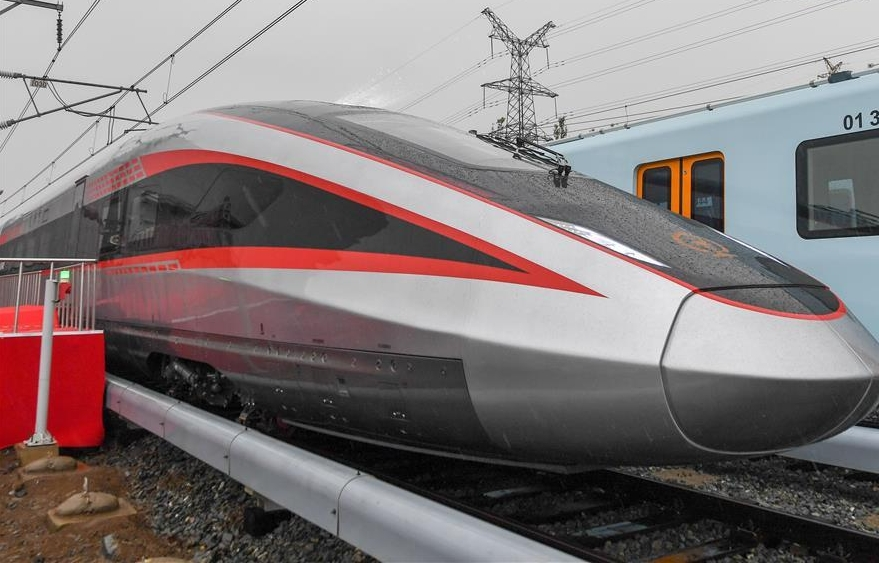 New type of train adapts to different gauge tracks