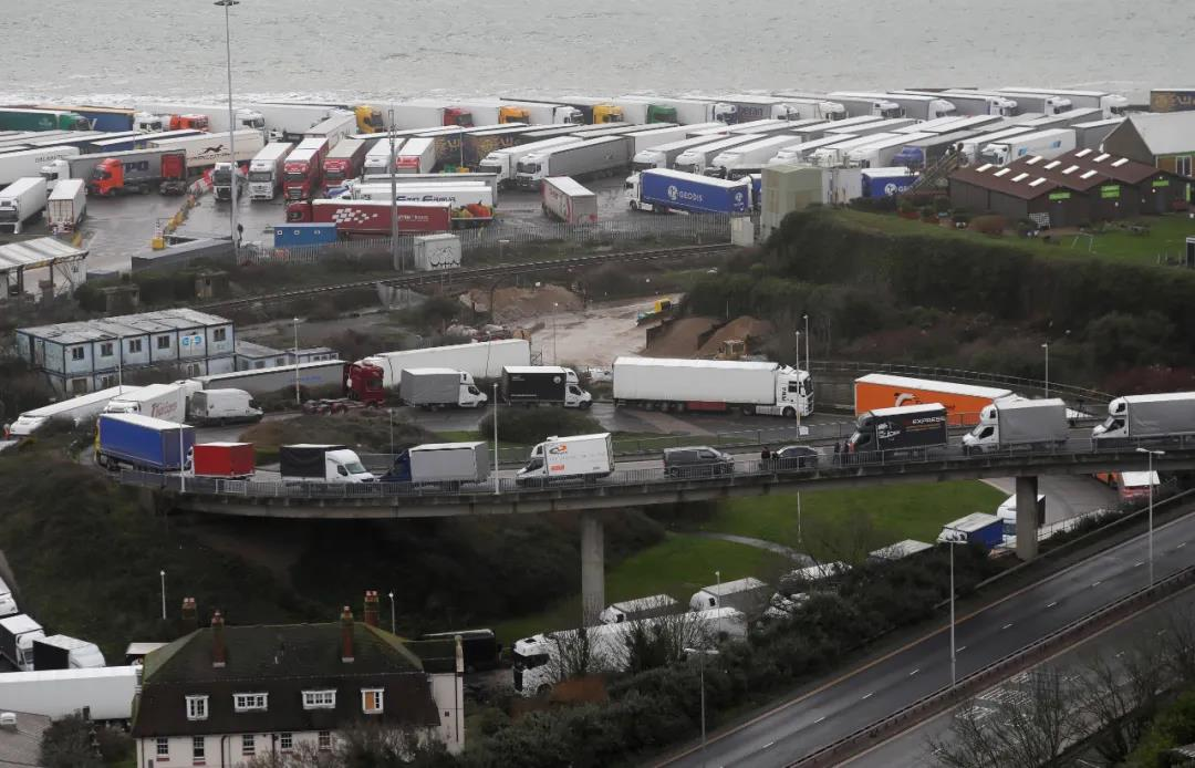 France reopens UK border to truckers with negative Covid test
