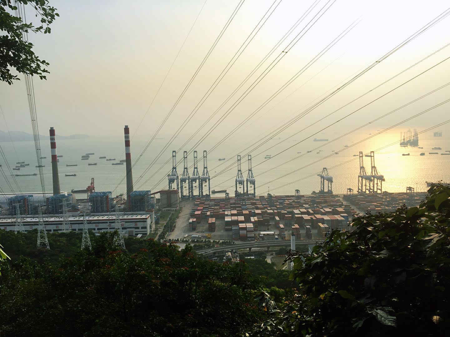 China's major ports register rising container throughput