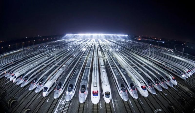 China's railway network continues to expand after the boom