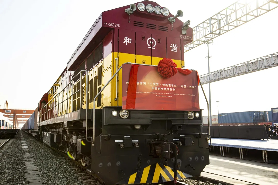 China-Europe freight train number via Xinjiang port hits new high