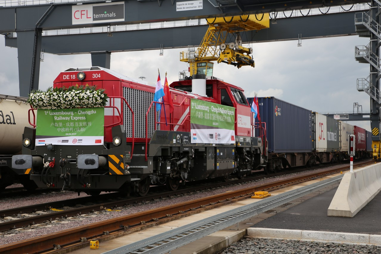 Luxemburg-China freight train fails to secure backing