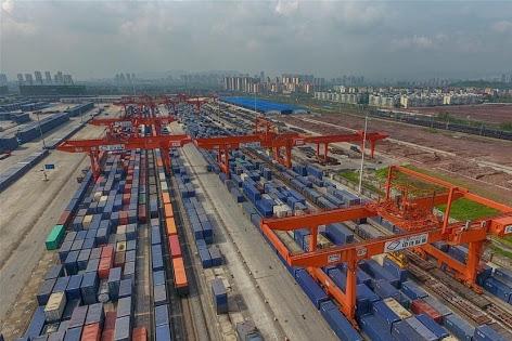 Chongqing-Manzhouli-Russia International Railway Logistics Channel blaze trail through COVID-19 pandemic